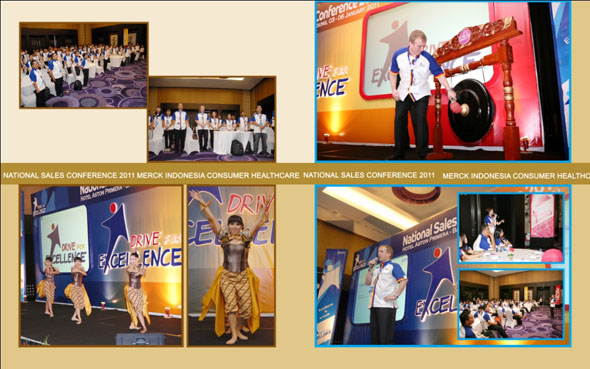 National Sales Conference 2011 Merck Indonesia Consumer Healthcare