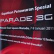 Telkomsel Parade 3G