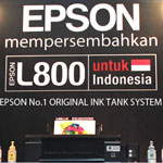 Press & Dealer Launching Epson Inkjet Printer L-800
