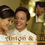The wedding of Anton & Santi
