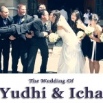 The wedding of Yudhi and Icha
