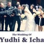 The wedding of Yudhi and Icha