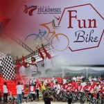 Fun Bike Telkomsel 17th Anniversary