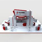 Telkomsel Broadband Mega Bazaar Computer Booth