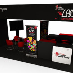 LBA Telkomsel Roadshow Booth
